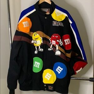 JH Designed vintage M and M jacket May 1990s